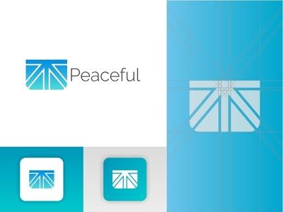 Peaceful Logo