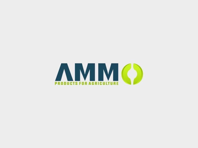 Ammo Brand Identity Logo ilustrasi vektor palet warna kreatif desain logo logo ikon aplikasi