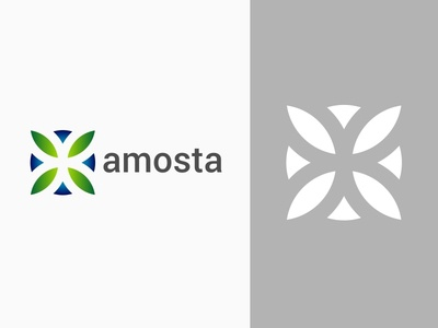 Amosta Brand Identity Logo
