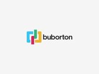 Buborton Brand Identity Logo