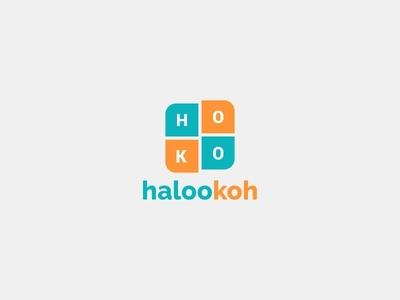Halookoh Brand Identity Logo