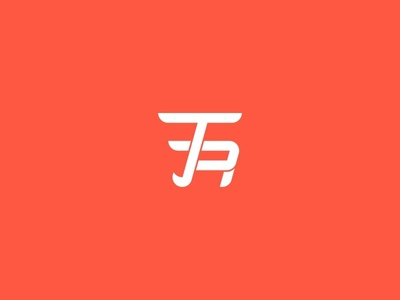 T R Brand Identity Logo