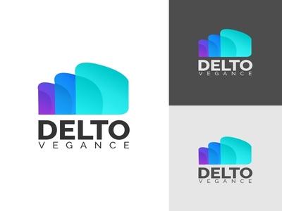 Delto Vegance Brand Identity Logo
