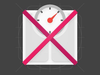 Material Design - Health & Fitness App Icon