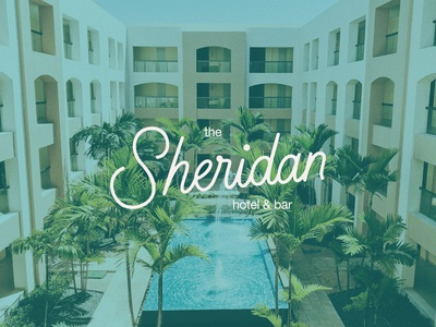 Sheridan Hotel Logo Design