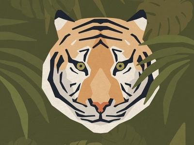 Poster Design - Bengal Tiger