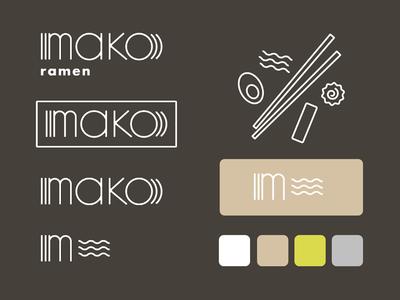 Branding - Mako Ramen