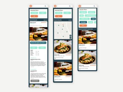 Safetable App Design Mockup