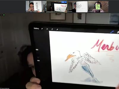 Building remote culture sketching machine sketch design team