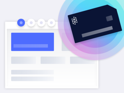 Hologram 101: Welcome Illustration create account new user welcome onboarding dashboard low-fi illustration