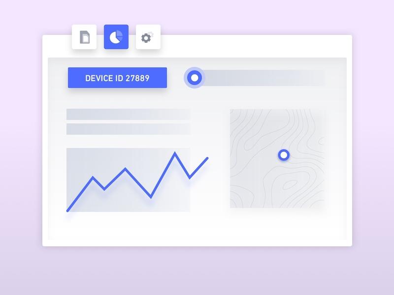 Hologram 101: Send Data illustration iot dashboard onboarding create account new user