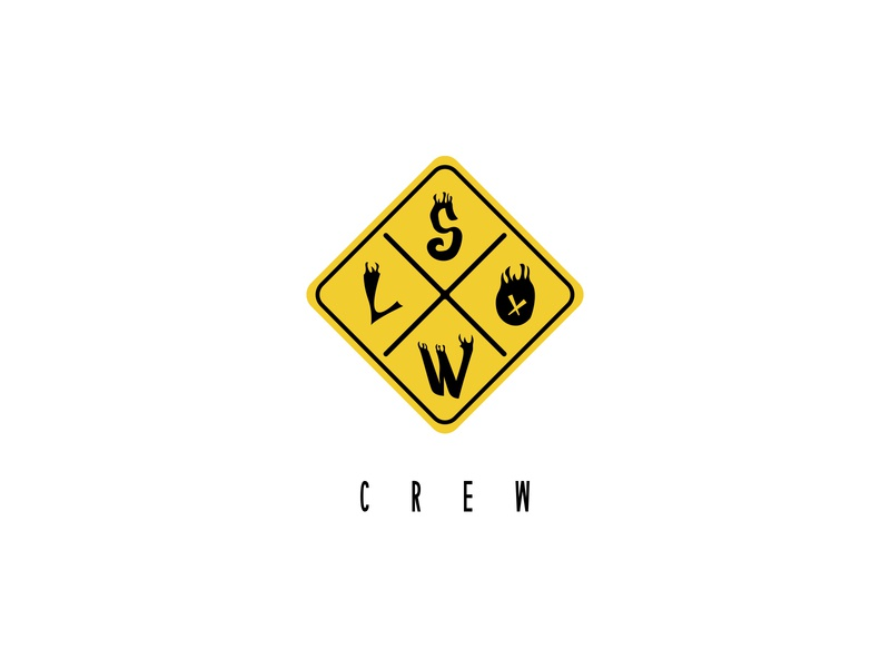 Slow Crew - Identity Design icon trap urban music logo design branding