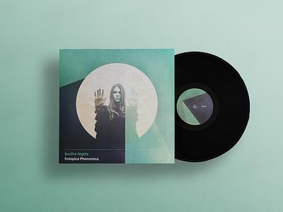 Bonfire Nights Album Artwork band modernist constructivist rock psych music print design abum art