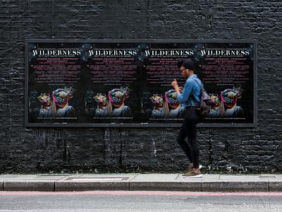 Wilderness Festival event music subway underground large format billboard poster festival