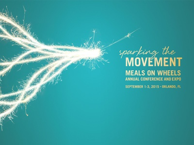 Sparking The Movement conference meals on wheels
