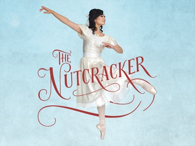 Charlottesville Ballet Nutcracker christmas calligraphy ballet nutcracker