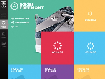 King of Trainers - Product Launch Countdown