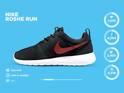King of Trainers - Product Launch with Social Integration online store store retail landing page web design ui 360 product colourful clean social integration social sports brand footwear product launch