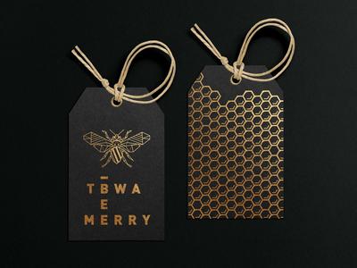 TBWA\ Bee Merry - Christmas Concept