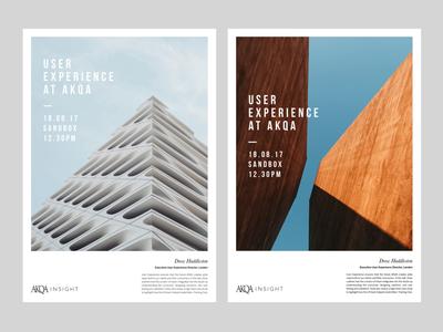 AKQA Insights - Poster Designs