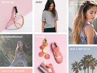 Pink Soda Sport - Landing Page