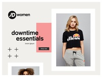JD Women - Landing Page Design