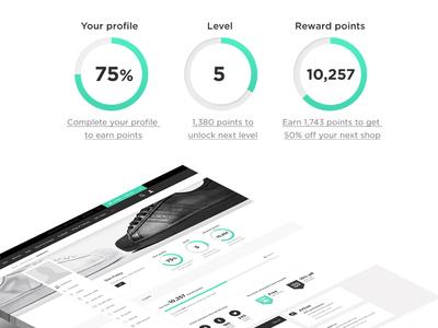 JD Sports - My Account Rewards Platform