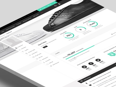 JD Sports - My Account Landing Page user interface black and white clean design store ui photography social user landing page design footwear infographic points retail sports brand web design landing page my account