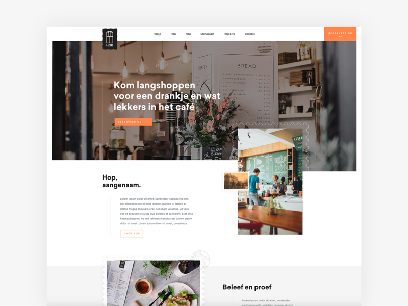 Restaurant digital design orange white black  white black identity design idenity illustration branding restaurant app website ux design ui clean restaurants inspiration webdesign restaurant branding site restaurant