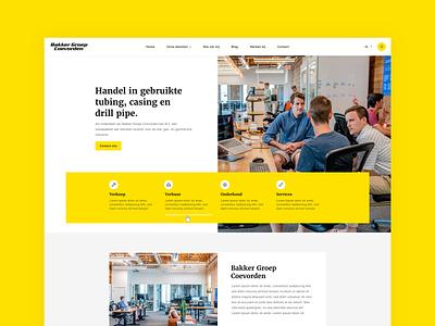 First concept design 🔥 typography web website flat design uiux black yellow clean styleguide concepts style conceptual concept art webdesign concept design concept