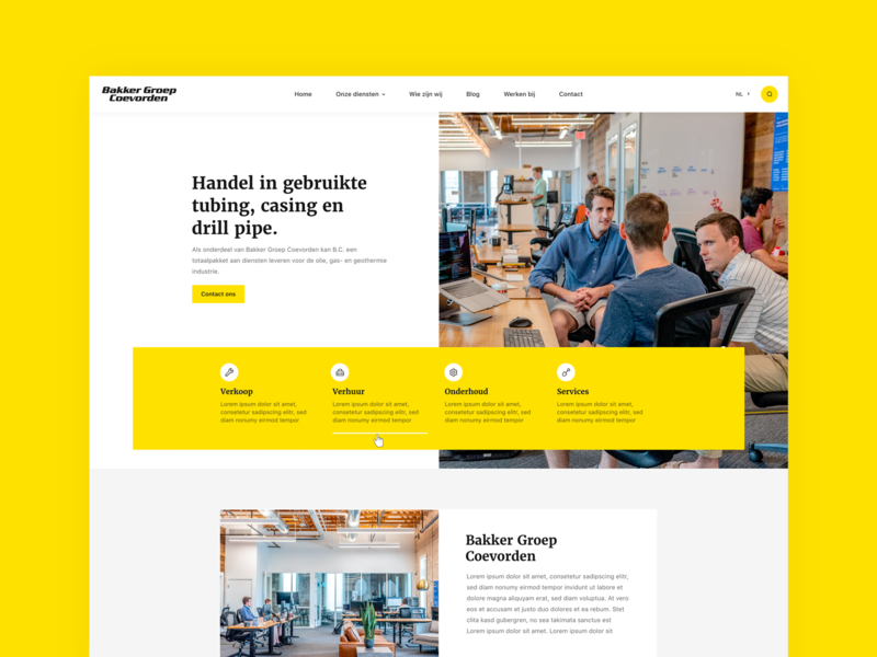 First concept design 🔥 typography web website flat design uiux black yellow clean styleguide concepts style conceptual concept art webdesign concept design concept