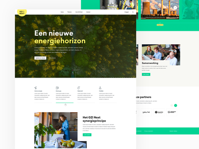 Innovative Energy Website playground websites web webdesign ux flat ui clean design website concept energy green yellow website design site website