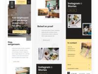 New mobile app design 📱 uix ux flat design clean site ui typogaphy menu socialmedia dark black restaurant wordpress responsive mobile ui mobileui mobile