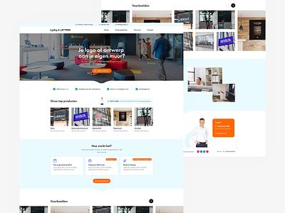 Webdesign signing company ui site branding web responsive webdesign website flat ux design clean