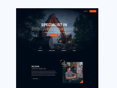 Dark theme re-design 🌘 uiux ui webdesign website dark ui dark