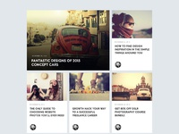 Fullscreen blog