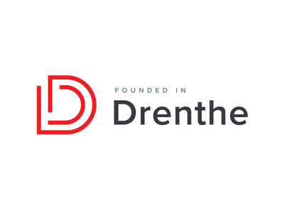 First logo concept Founded in Drenthe
