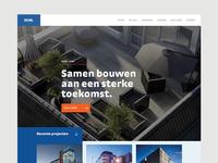 Fullscreen homepage (site)