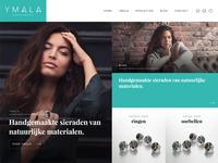 Jewelry split screen website