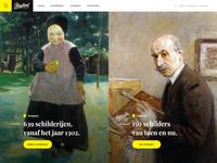 Art site - split screen