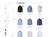 E-commerce widget