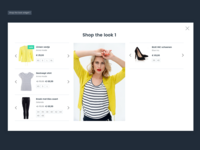 Shop The Look widget by shoply ®