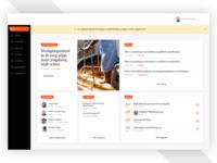 Dashboard - intranet
