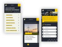 App design - Jaarconferentie Nationaal Techniekpact