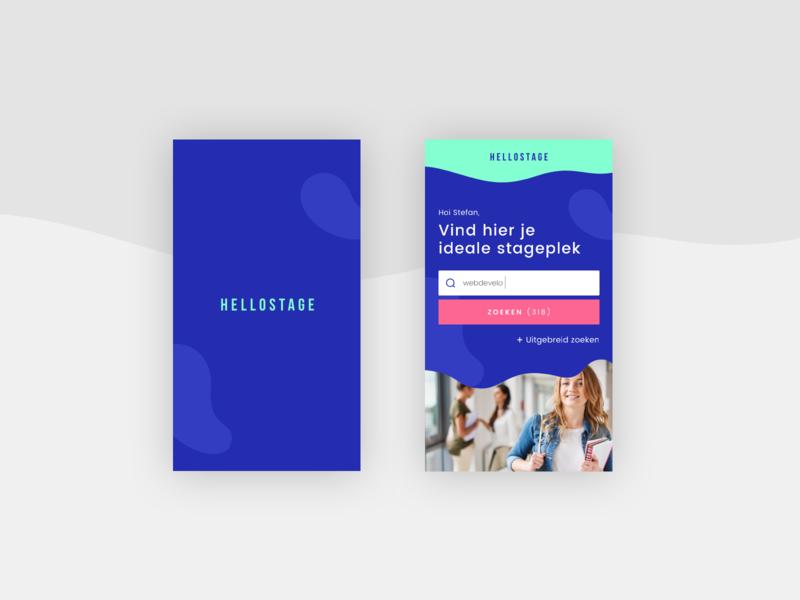 Stage app (design) app animation brand web responsive color clean ui design stage app