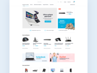 Clean business design (e-commerce)