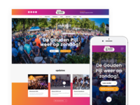 Re-design Goudenpijl (Event site)