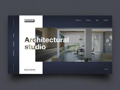 1618 room interior cafe layout website web ux ui typography type minimal design science design