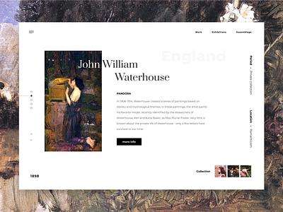Promo art concept artist artwork art layout website web ui ux typography type minimal design science design