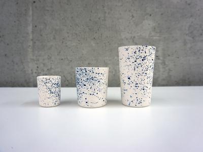 Hajstra   cobalt cups